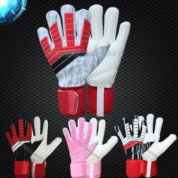best selling Jusdon Predator Allround Latex Soccer Professional Goalkeeper Gloves Goalie without fingersave FootballBola De Futebol Gloves Luva De Goleir