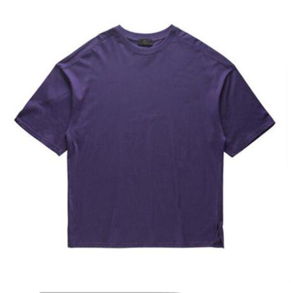 Designer T-shirts pour hommes New Summer Loose Oversize Streetwear Tops Chemises Hommes Casual Solide Hommes T-shirt À Manches Courtes Plus La Taille