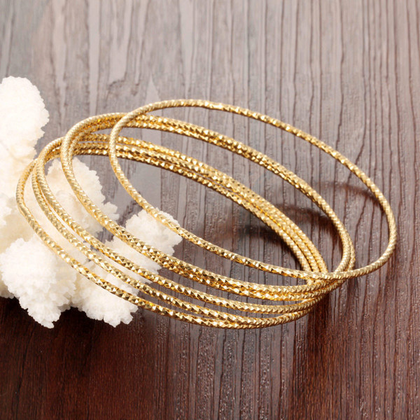 Тонкая полоса золотой цвет браслеты бесплатная комбинация Богемия популярные браслеты ювелирные изделия невеста замуж украшения аксессуары