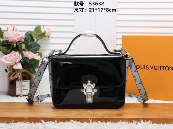 Lady package Women's shoulder bag Fashion Accessories 2019 new products Boutique Pretty gorgeous Low embossing 21*17*8cm