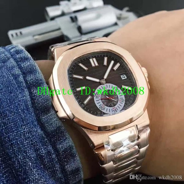 Hot Luxury Brand Watch Swiss Automatic Date Movement Sapphire Crystal 18k Rose Gold 316L Stainless Steel Luminous Men Wristwatches