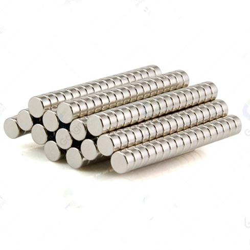 Wholesale D8*3mm strong neodymium magnet D8*3mm Permanent N35 silver disc rare earth magnet neodyminum free shipping