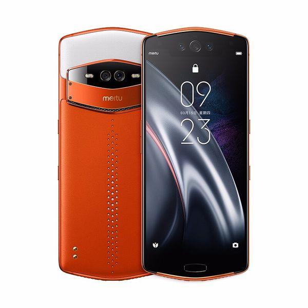 Orijinal Meitu V7 4G LTE Akıllı Cep Telefonu 8 GB RAM 128 GB ROM Snapdragon 845 Sekiz Çekirdekli Android 6.21
