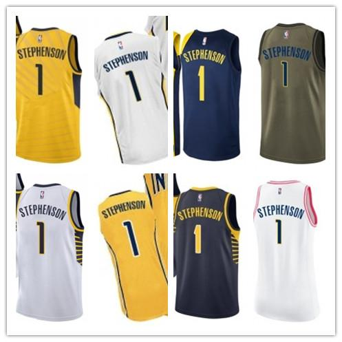 hot sale online 65d54 4711d 2019 2019 Custom Men/WOMEN/Youth Indiana Pacer Jersey 1 Lance Stephenson  Basketball Jerseys Free Ship Size S Xxl Message Name Number From Lzytop002,  ...
