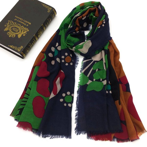 New brand design scarf 100% cashmere material thin and soft long scarves pashmina for women size 190cm -110cm