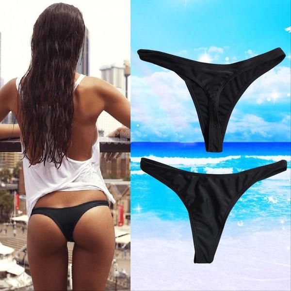 Women Swimwear Briefs Knickers G-string Bikini Bathing Swimsuit Panties Ladies