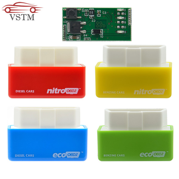 2019 NitroOBD2 Full Chip Tuning Box EcoOBD2 Economy Chip Tuning Box OBD Car  Fuel Saver Eco OBD2 For Benzine Cars Fuel Saving 15% From Wondenone,
