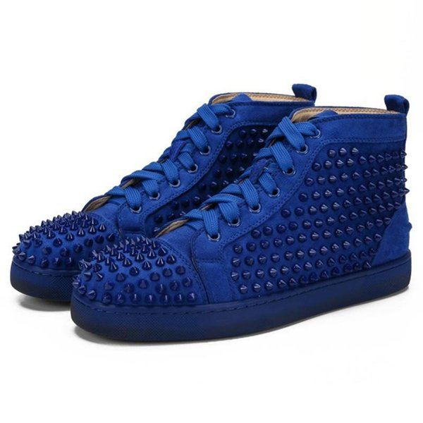 Blue Suede Spikes