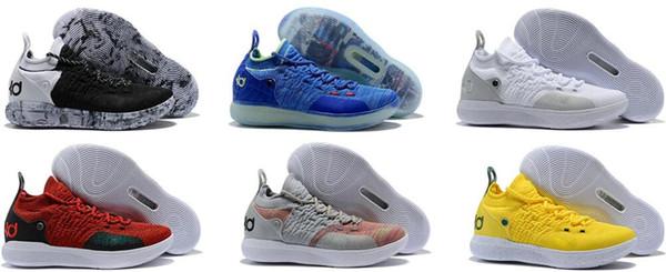 Cheap KD 11 EP Elite Basketball Shoes KD 11s Men Multicolor Peach Jam Mens Doernbecher Trainers Kevin Durant 10 EYBL All-Star BHM Sneaker 00