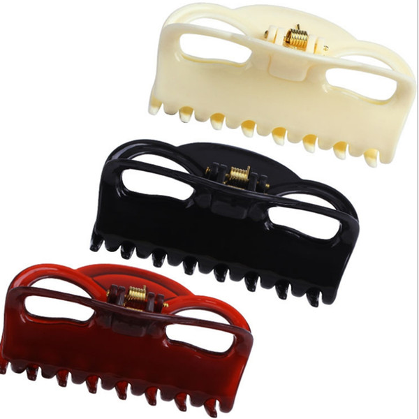 1 PC 9 cm Plastic Girls Hair Claw Clips Women Hair Clamp Clips Wig Hairpins Grab Accessories Headwear Dropship New Arrival