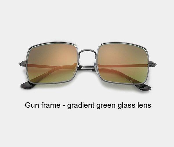 gun gradient green