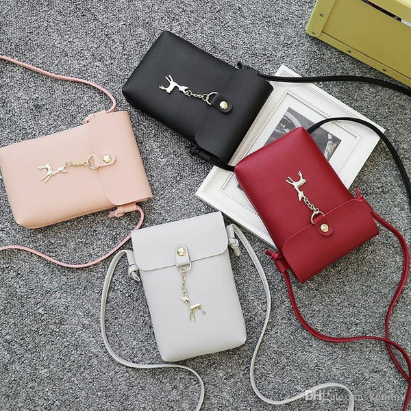 New Designer Cross Body Bags Women Luxury Handbags Purses Leather Small Shoulder Bags Cell Phone Pocket Hot Sale