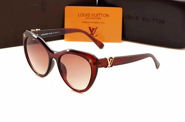 18540 gafas de sol de diseñador para hombre, para mujer y mujer, con marcos de metal. Gafas de sol de lujo retro. Tumbas.
