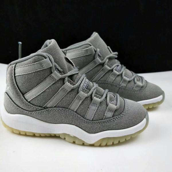 Space Jam 11 Athletic Win Like 96 gym red 11s Midnight Navy 11 Basketball Shoes wholesale With Box Baby Kids Sport Sneakers