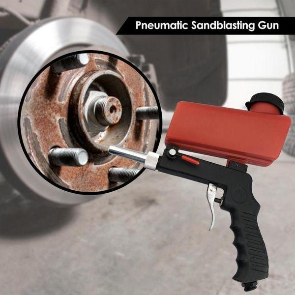 Mini Handheld Portable Spray Gun Pneumatic Gravity Pneumatic Set Home DIY Mini Blasting Device Sandblaster Sandblasting Machine