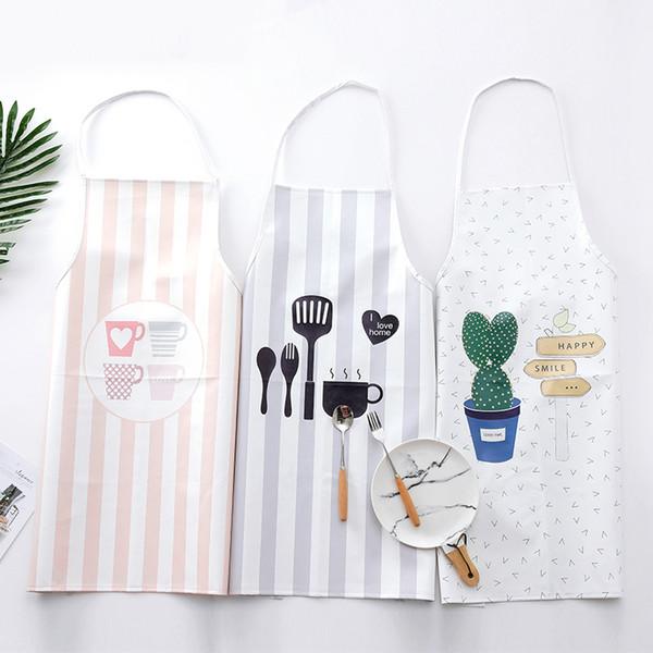 Pu Kreative Schürze Korean Fashion Bakery Kitchen Home Halbe Schürze
