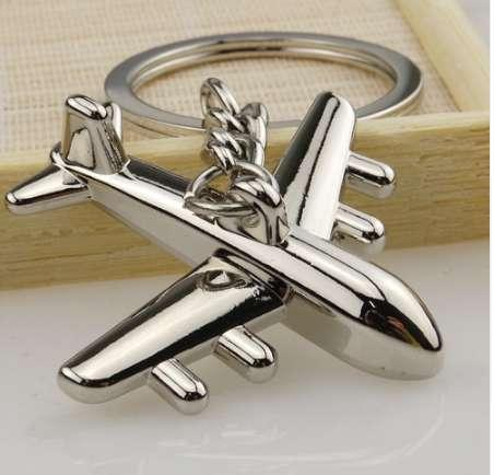 Hot Sale 1PC Aircraft Model Keychain Outdoor Key Ring Pendant Keyring For Gift Dropshipping Apr12