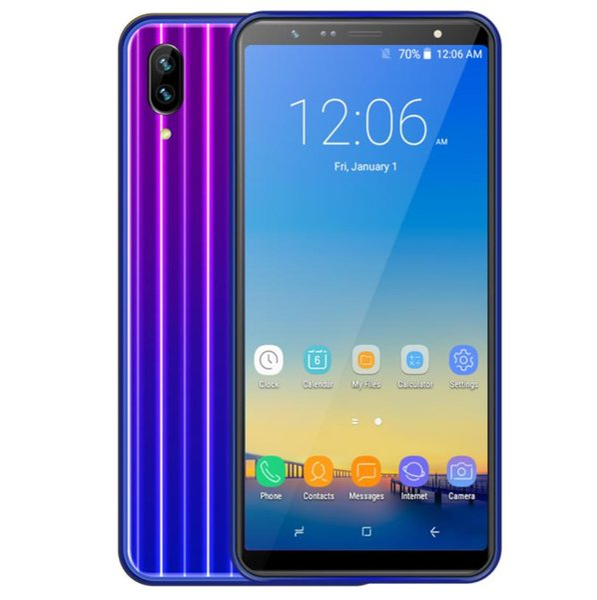 MTK6580 6,0-дюймовый Goophone X23 1 ГБ ОЗУ 16 ГБ ПЗУ 3 г сотовый телефон HD с полным экраном четырехъядерный процессор 2000mAh-2999mAh разблокированный смартфон X142