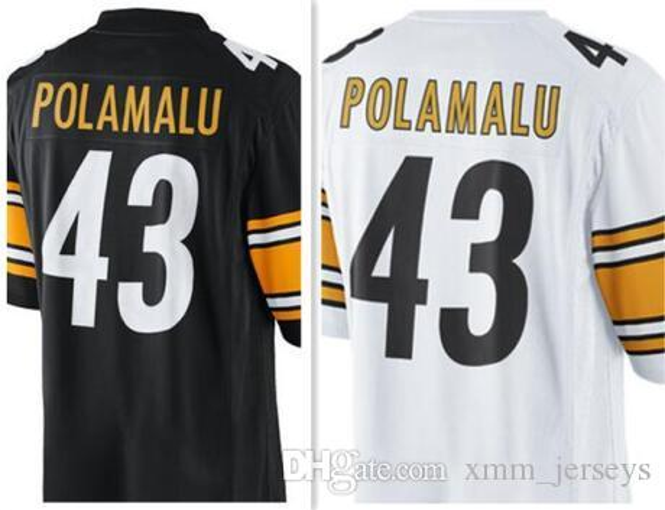 finest selection 4ebc2 5ec89 2019 43 Troy Polamalu Pittsburgh Steelers Jersey Cheap Wholesale 75 Joe  Greene 10 Martavis Bryant Stitched Jerseys From Xmm_jerseys, $26.63 | ...