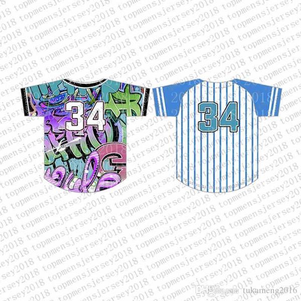 Top del camisetas de béisbol para hombre bordado Logos Jersey envío libre barato al por mayor de cualquier nombre de cualquier número tamaño M-XXL 76