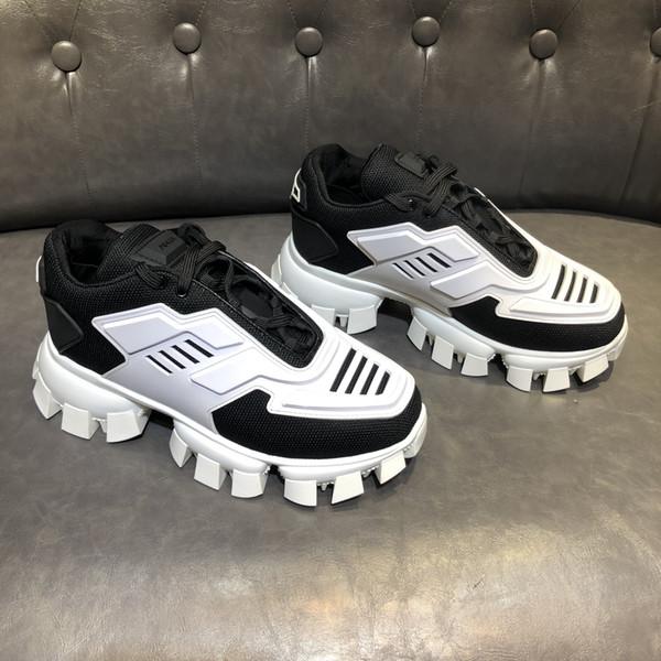 Nouvelle couleur de passerelle annonce correspondant à des chaussures de sport pour hommes, personnalité sauvage Hommes semelle épaisse Sport Casual Chaussures Mode Chaussures à papa Casual 0053