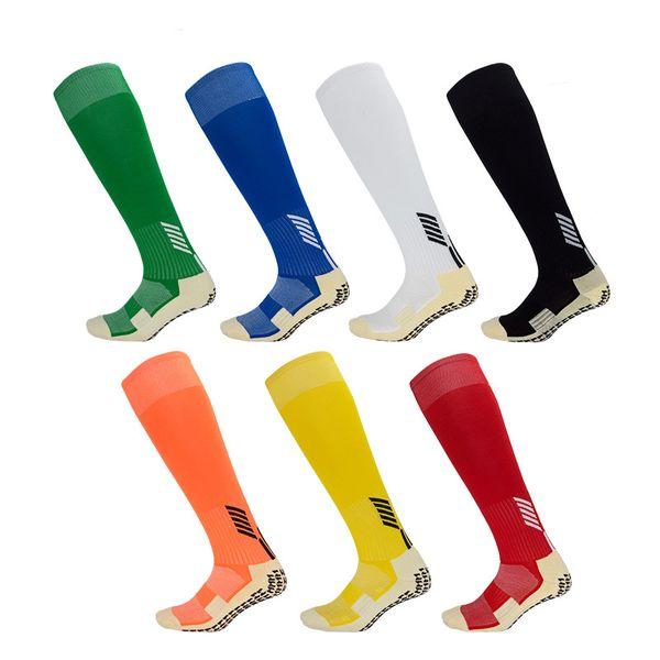 Multi-Funcional Meias Esportivas Para Homens Resistente Ao Desgaste Meias Longas Popular Meia Anti Slip Soccer Sock Joelho Alta Stocking M110Y