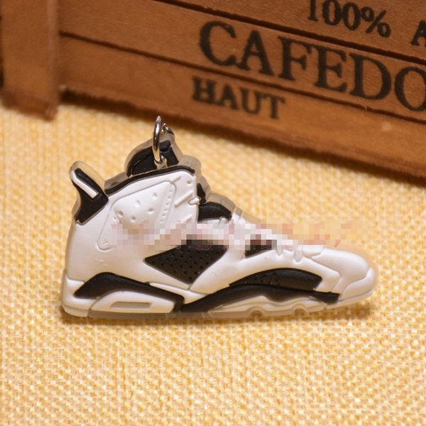 Free DHL Fashion Basketball Shoes Key Chain Ring Sneakers Keyrings Keychains Hanging Accessories Novelty Charm Keychain Women Men C90L F
