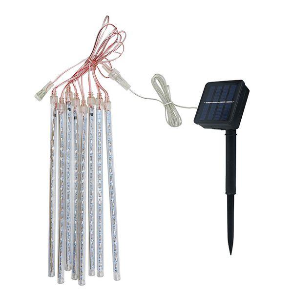 Solarbetriebene 30 CM LED Meteorschauer Regen Tubes LED String Licht für Garten Baum Hochzeit Party Decor