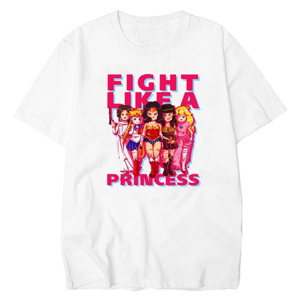 LettBao Sailor Moon T-shirt Women Casual Japanese Cartoon Vogue T Shirt Kawaii Tee Shirt Casual Women Tshirt Funny Harajuku Top