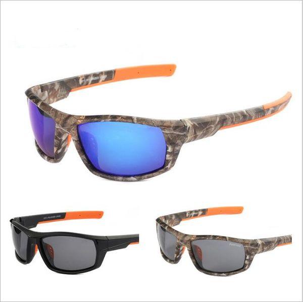 Sunglasses Sports Polarized Sunglasses Driving Hiking Sun Glasses Summer Travel Outdoor Classic Eyewear Retro Fashion Film Camo Glasses 4413