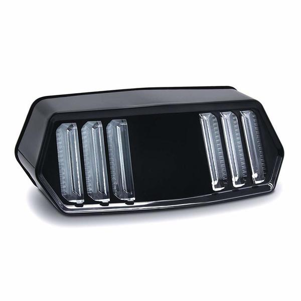 Indicatore di direzione del motociclo LED Fanale posteriore Stop del freno Indicatore di marcia integrato Luci di segnalazione per Honda Grom125 MSX125 / SF GROM CBR
