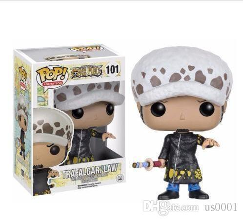 Funko POP Anime: One Piece TRAFALGAR LAW Vinyl Action Figure With Box t167 Popular Toy