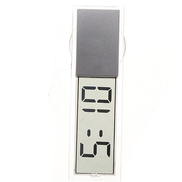 Suction Cup Car Dashboard Windscreen Digital LCD Display Mini Clock