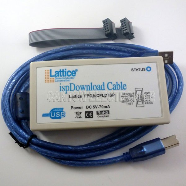 Freeshipping Lattice ispDownload Cable USB Programmeur CPLD FPGA Jtag ISP pour Diamond ispLever Win7 WIN8 WIN8.1 Linux