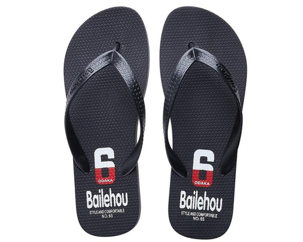 Top Quality New Arrival 2018 Men Big Size Lightweight Solid Color Classic Summer Slipper 165