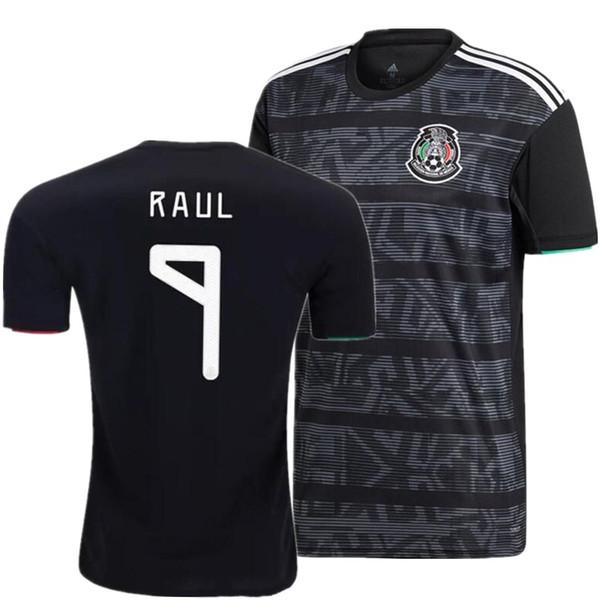 Mexico 2019 2020 H.LOZANO H.HERRERA R.MARQUEZ CHICHARITO A.GUARDADO RAUL Soccer Jersey 19 20 American Cup football shirt S-2XL