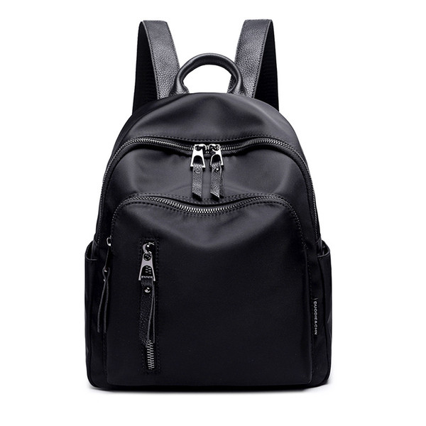 Korean Fashion Backpack Women Small Oxford Waterproof Cute Backpack For Teenage Girls School Bags Laptop Knapsack Female