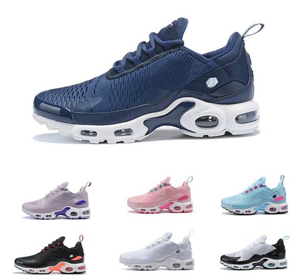 Neue Ankunft plus und Frauen beschuht Flair-dreifaches Schwarz-Weiß-Sportschuh-Turnschuh-Maxes-Schuhe im Freien 36-46