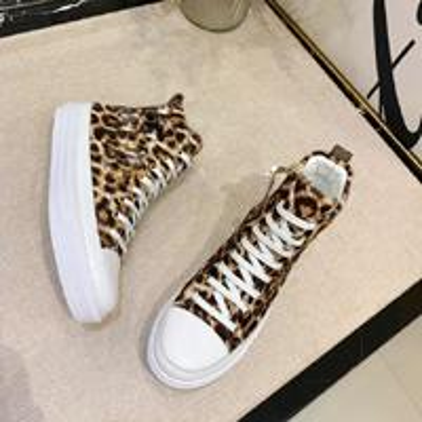 Top High leopard print