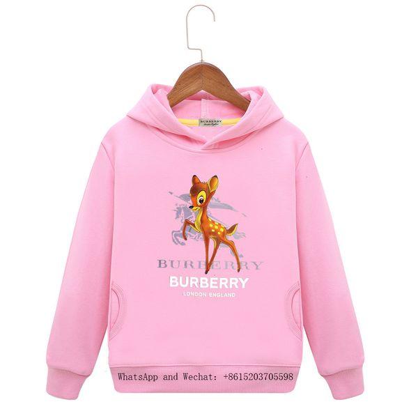 Детская одежда Платье Свободного время сто вверх Девочка пояс Cap Длинные рукава цветов мультфильм мальчики балахон одежды младенца 121015