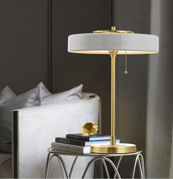 2019 Post Modern European Bedroom Bedside Table Lamp Black White Blue  Luxury Living Room Hotel Decorative LED Table Light E14 From Rangcy2008,  $152.77 ...
