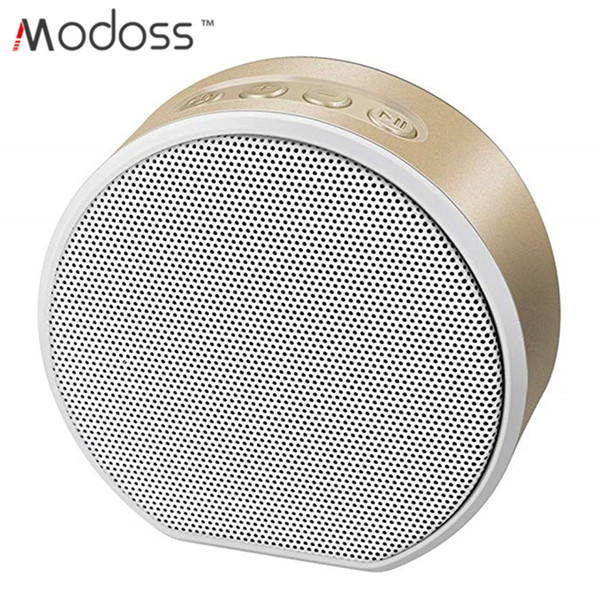 Modoss Y1 Mini Portable Bluetooth Speaker Hands-free with Mic Stereo Portable Music Player Support FM/ micro SD card
