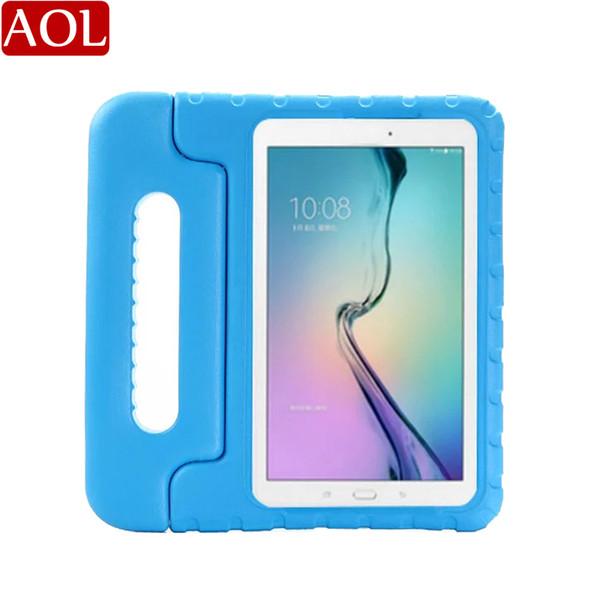 EVA para niños para Samsung Galaxy Tab E 7.0 T113 / Tab 3 Lite T110 tablet PC soporte de escritorio soporte nuevo protector de la cubierta de la caja