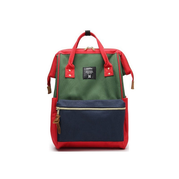 Large Size Or Small Size A Ring Students Backpacks For Teenage Girls&boys School Bag Women14.15inch Laptop Waterproof Rucksack