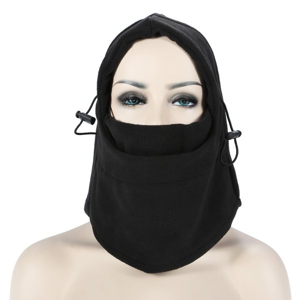 Multifunctional Full Face Cover Mask Balaclava Knit Hat Winter Fleece Stretch Snow mask Beanie Hat Cap Warm Face masks Neck Warmer Scarves