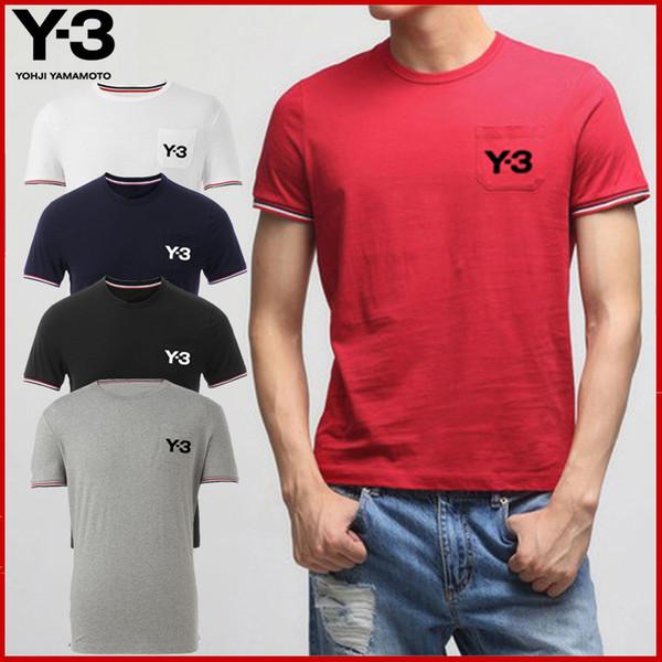 T-shirt en coton à col rond avec poches de marqueIl y a beaucoup de styles, de prix à la mode, de prix abordables et d'excellente qualité.