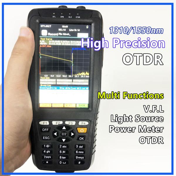 High Precision OTDR Tester Optical Time Domain Reflektometer 4 in 1 OPM OLS VFL Touch Screen 3m bis 60 km Reichweite Optisches Gerät