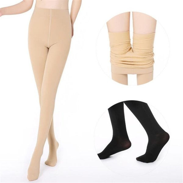 Wholesale 2019 neue Gamaschen für Frauen Ankunft beiläufige warme Winter Faux Samt Legging strickte starke dünne Gamaschen super elastisch # 400117