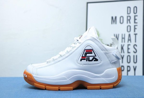 2019 Fila 96 Grant Hill II Basketball Shoes Running For Mens Womens Shoes Discount Cheap White Black Fashion Sport Designer Sneakers Shoes From