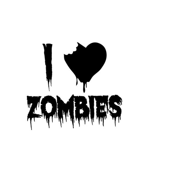 Großhandel Auto Aufkleber Ich Mag Zombie Pelz Walking Dead Vinyl Aufkleber Dekoratives Muster Dekoratives Muster Von Xymy777 392 Auf Dedhgatecom
